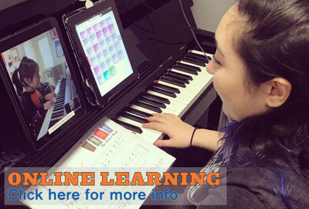 Online Learning Music Lessons